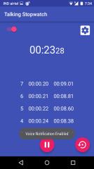 会说话的秒表:Talking Stopwatch截图4