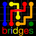 <font color='red'>彩球</font>连接之桥:Flow Free: Bridges