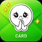 LINE贺卡:LINE CardLOGO