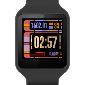 LCARS表盘:LCARS Watch Face