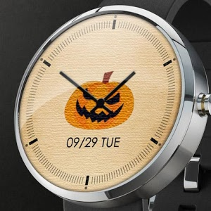 南瓜表盤:Pumpkin Watch Face