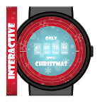互动圣诞节倒计时表盘:Christmas Countdown Interactive Watch Face