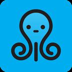 可爱的章鱼动态壁纸:Cute Octopus Live Wallpaper