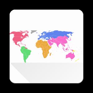 游览世界地图:Visited World Map