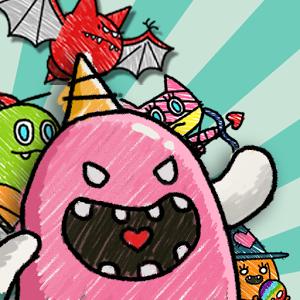 怪物大战僵尸:Monster VS Zombie段首LOGO