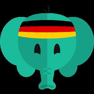 轻松学德语LOGO
