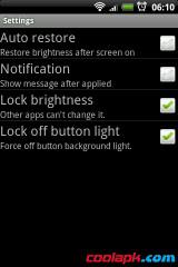 键盘灯亮度调节:AdjBrightness