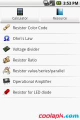 电路专家:ElectroDroid截图1