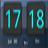 系统信息时钟:Sense Analog Clock Widget