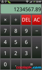 Android语音计算器截图1