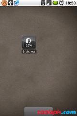 亮度调节Widget:Brightness Level截图1