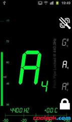 半音调谐器:Tuner - DaTuner Pro截图1