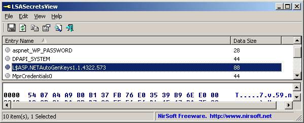 LSASecretsDump (64-bit)