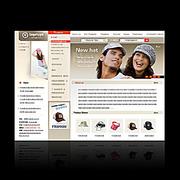 小计天空儿服装企业网站