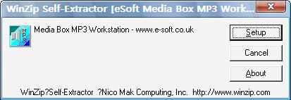 eSoft Media Box MP3 Workstation