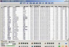 华人电话计费管理系统