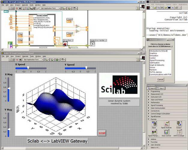 Scilab for Linux (x64)LOGO