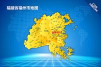 福州地图LOGO