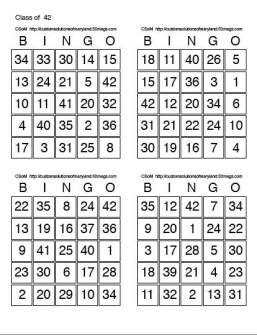 Class Bingo For Mac