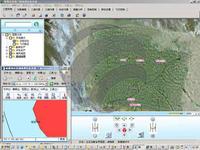绿茵矿山GIS地理信息与矿图管理查询系统LOGO