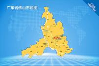 佛山地图LOGO
