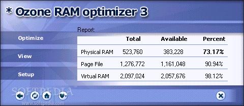 Ozone RAM Optimizer