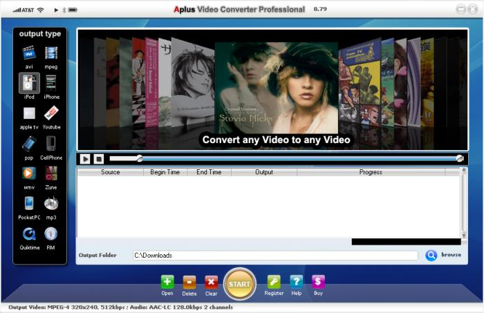 Aplus Video Converter段首LOGO