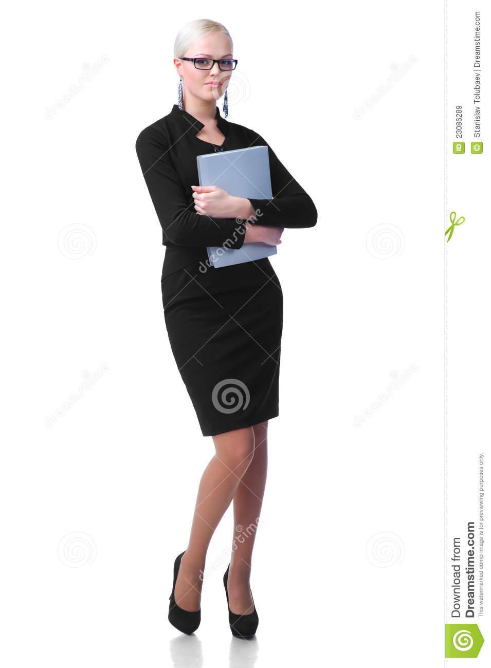 Cute Folder Secretary
