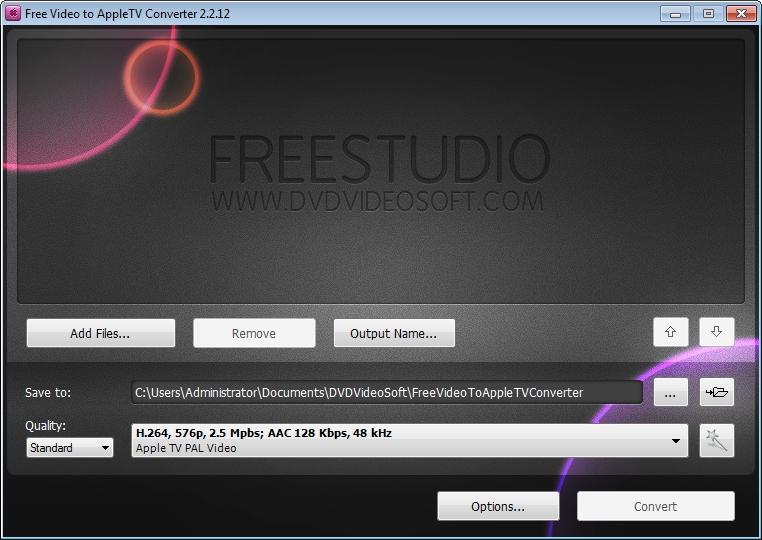Pegasus Apps AppleTV Video Converter