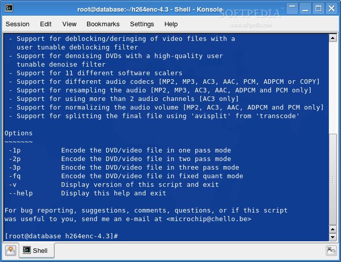 H264enc For LinuxLOGO