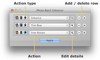 iPhoto Batch Enhancer