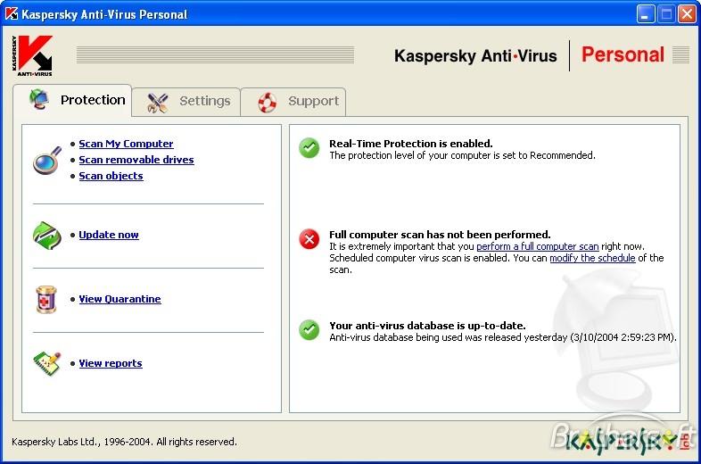 Kaspersky Anti-Virus Personal