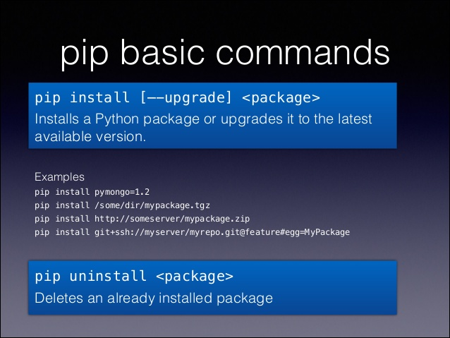 virtualenv-commands