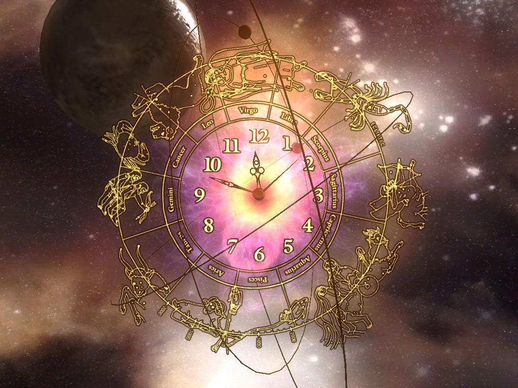 Space Clock ScreenSaver