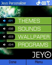 Jeyo Personalizer个性化总管 绿色版