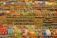 超市找东西
