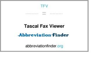 Tascal Fax Viewer