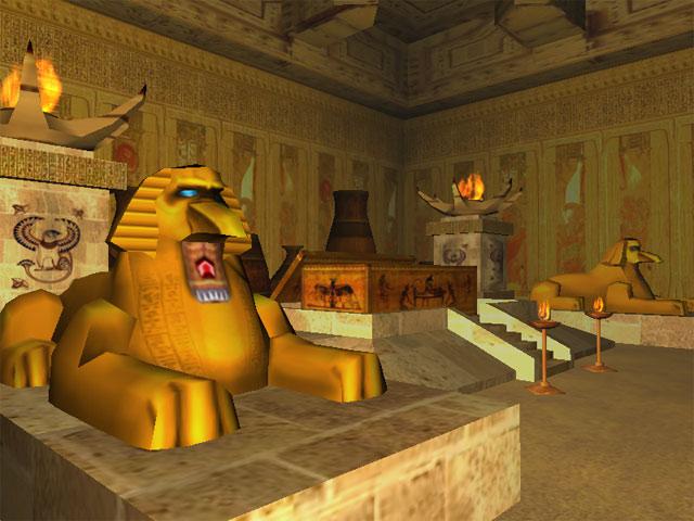 Pyramids of Egypt 3D Screensaver