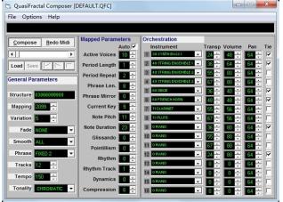 QuasiFractal Composer