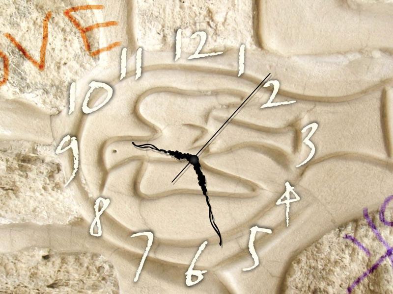 Wall Art Clock ScreenSaver