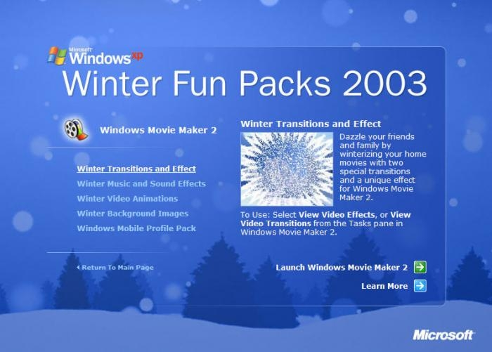 Winter Fun PackLOGO