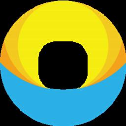 蓝海灵豚便利店管理软件LOGO