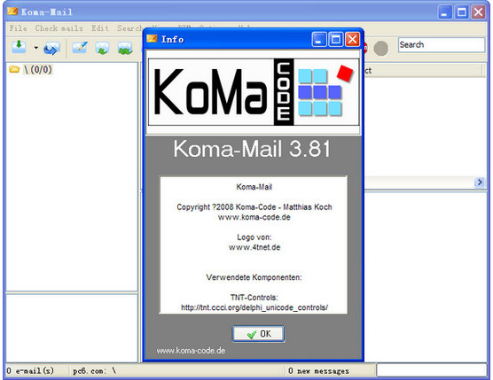 Koma-Mail(轻便的邮件客户端)截图
