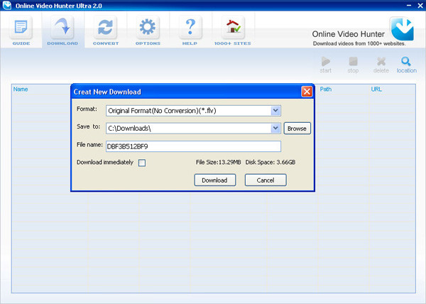 在线视频下载工具软件截图