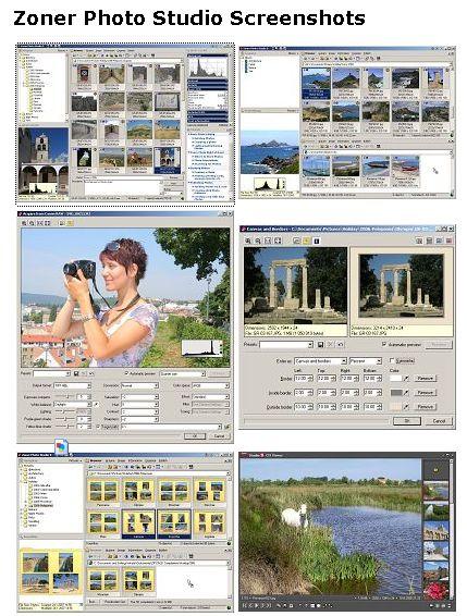 数字照片管理编辑软件截图