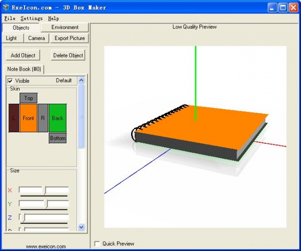 三维包装设计工具3D-boxmaker截图