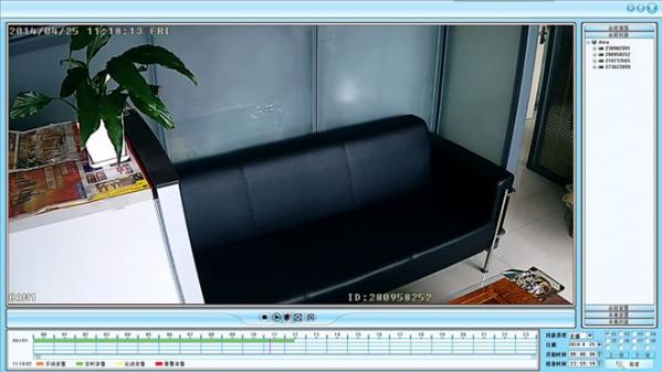 图威硬盘录像机客户端软件截图