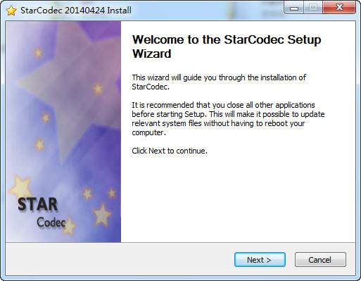 StarCodec视频解码器截图