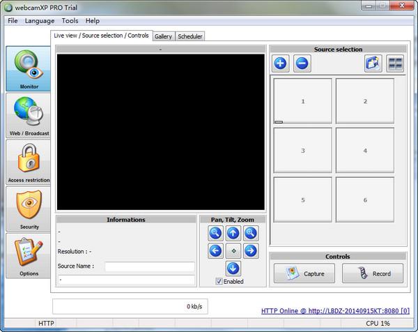 网络视频捕捉webcamXPPro