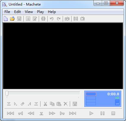 Machete Lite(wmv视频编辑)截图